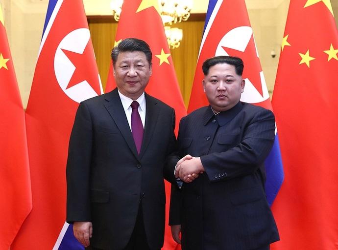 Xi Jinping Mendarat di Korea Utara Untuk Bertemu Kim Menjelang Pembicaraan Penting